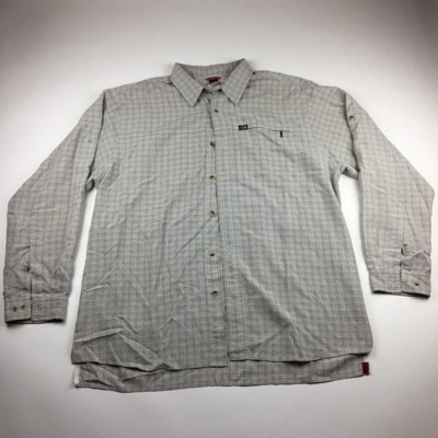 The North Face Small Logo Plaid Button Up Shirt