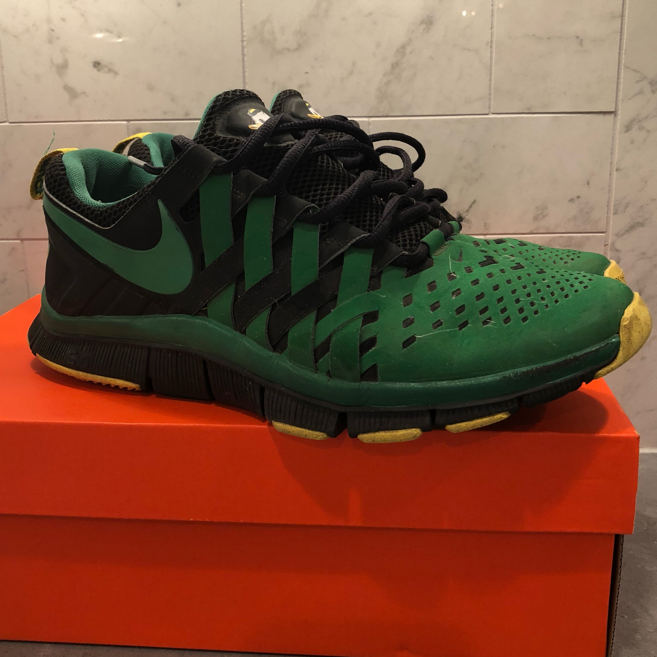 "info for f6dc7 bc067 Nike Free Trainer 5.0 ""Oregon Ducks"""