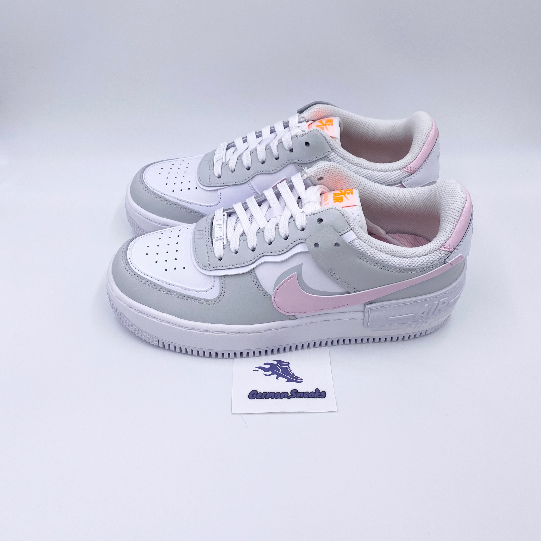 Nike Air Force 1 Shadow Pink Foam Pink Grey Jd