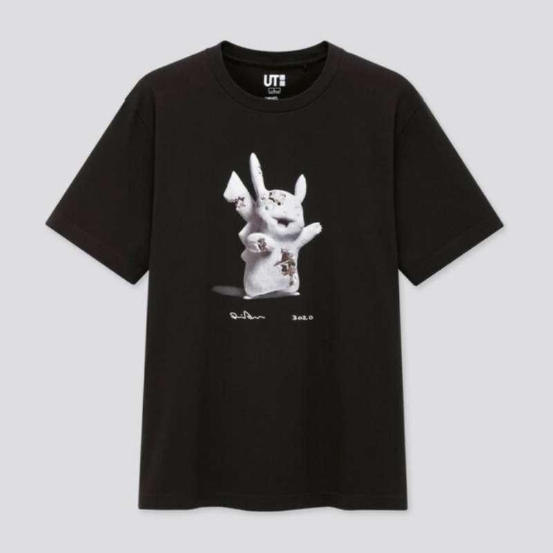 Uniqlo X Daniel Arsham X Pokemon Graphic T-Shirt