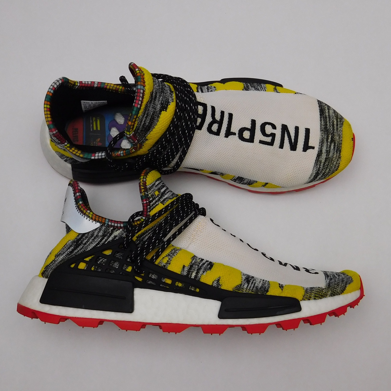 Human Race Nmd Solar Pack (Red \u0026 Yellow)