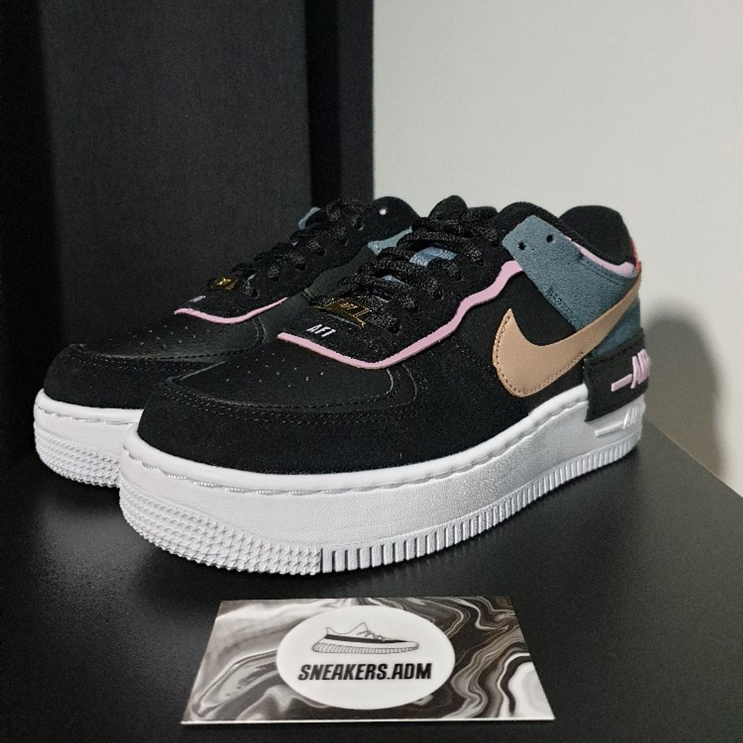 Nike Air Force 1 Shadow Black Light Arctic Pink W Did you scroll all this way to get facts about nike air force 1 pink? nike air force 1 shadow black light arctic pink w