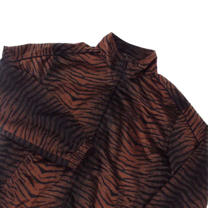 Supreme Brown Tiger Velour Jacket