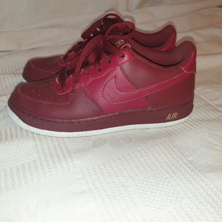 Nike Air Force 1 dark Red (Limited edition)