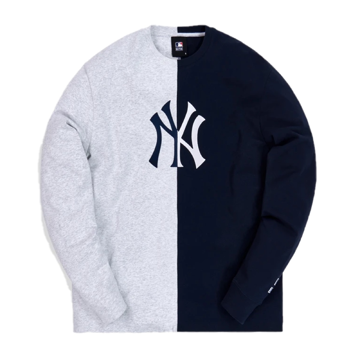 Kith For Major League Baseball New York Yankees Split LS Tee
