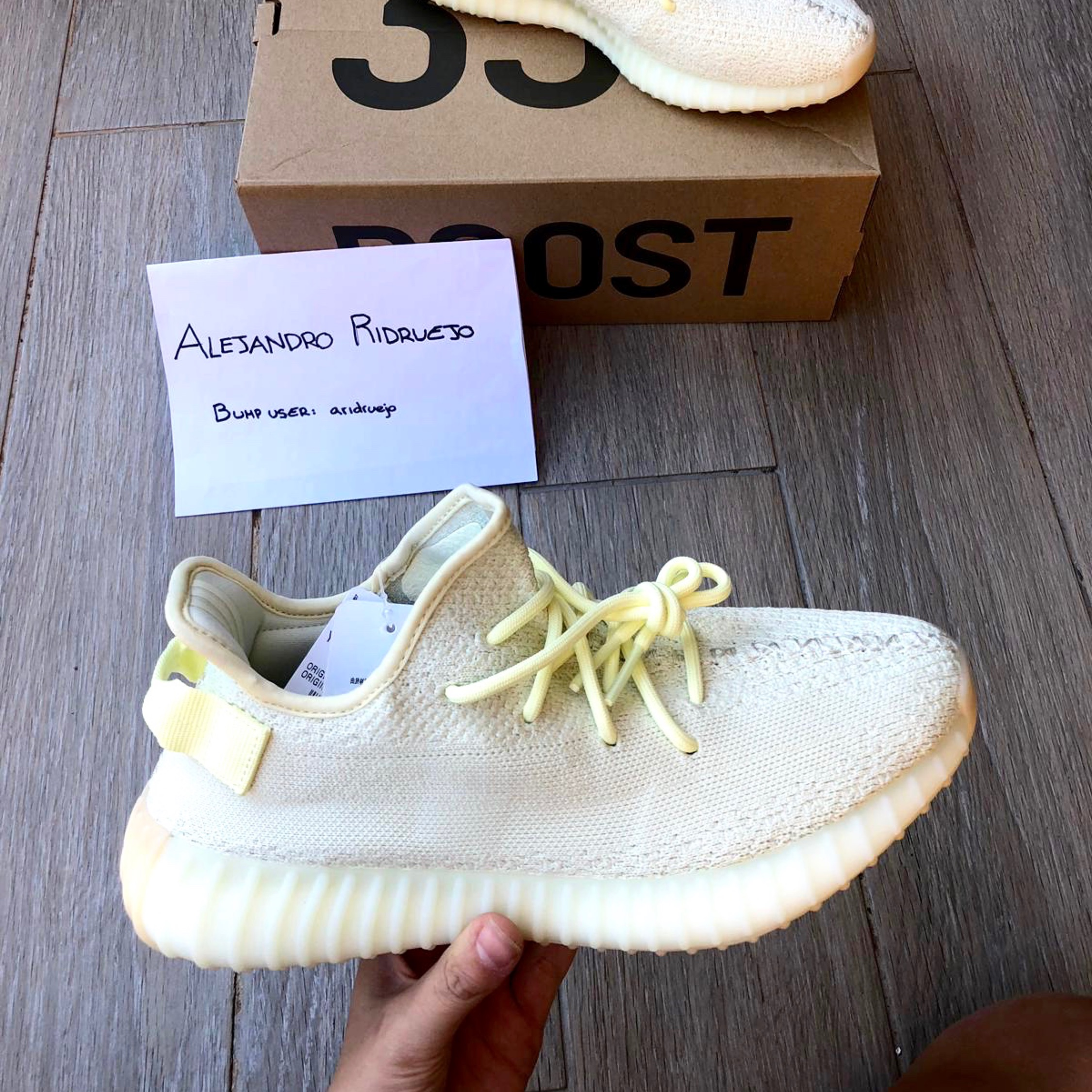 huge selection of b7ce2 a9802 Yeezy Boost 350 V2 'Butter'
