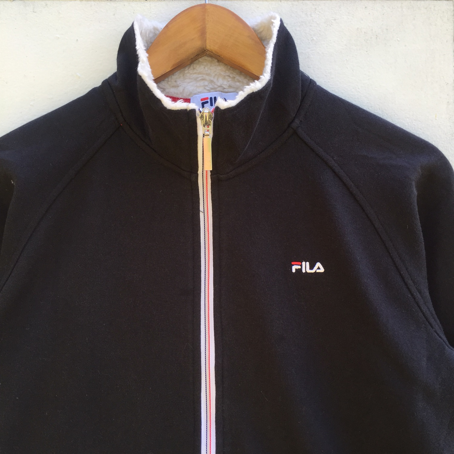 Fila Sweaters Double Pocket Full Zip Up