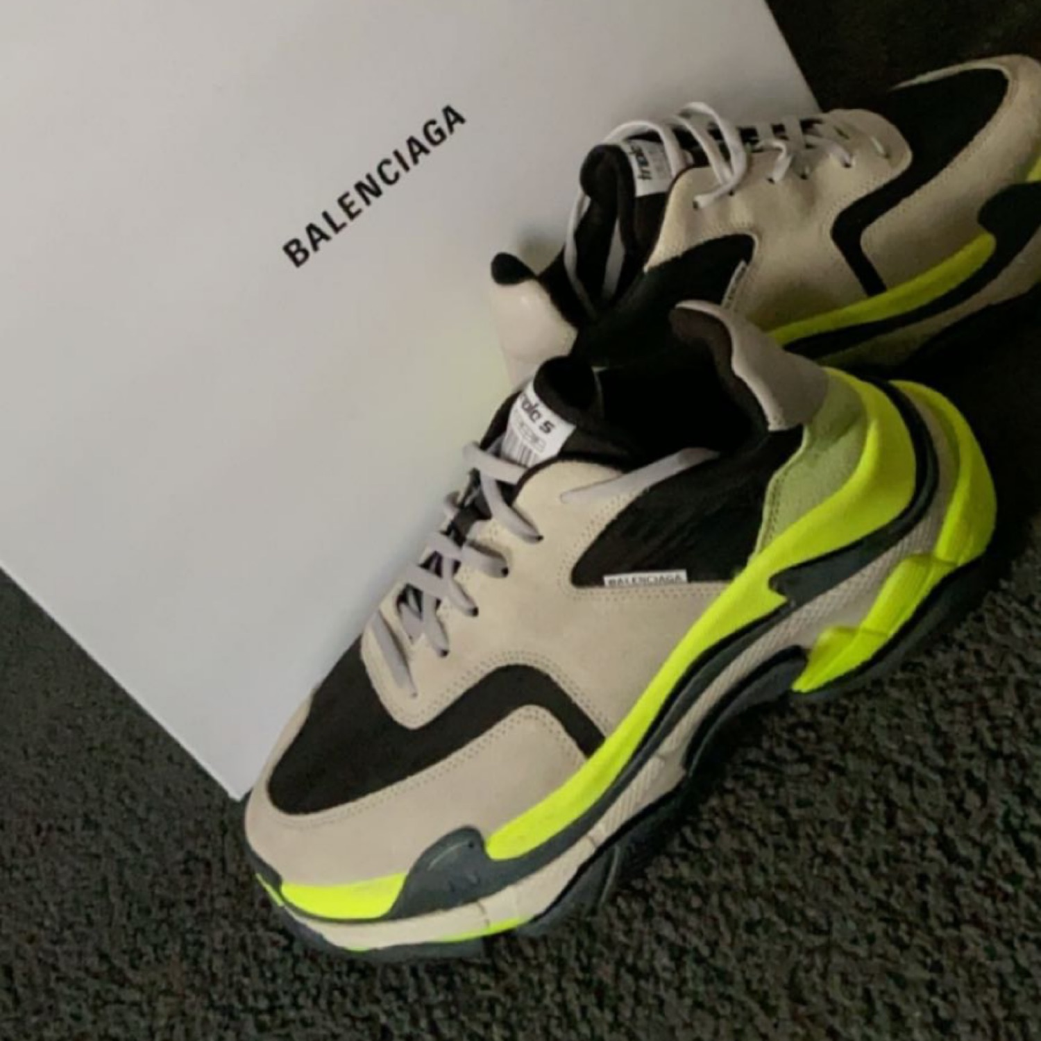 Balenciaga Speed Trainer Triple S Race Runner Arena eBay