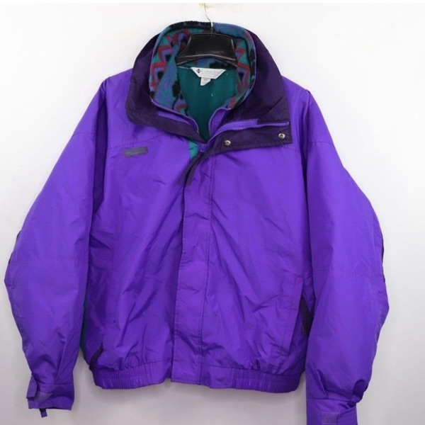 Columbia Vintage Bugaboo Parks Jacket Fleece Xl