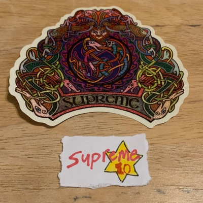 Supreme Knot Sticker