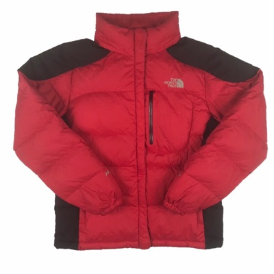 Tnf Nuptse Jacket Vintage Hooded