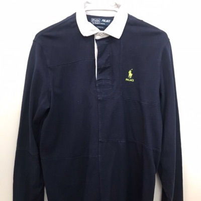 Palace Ralph Lauren Pieced Rugby French Navy