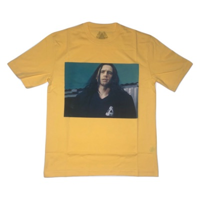 Palace Wise Up James Franco Picture T Shirt