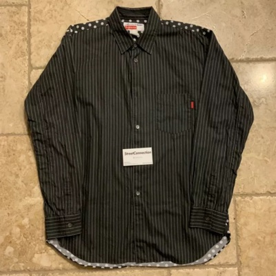 Supreme X Cdg Oxford Shirt