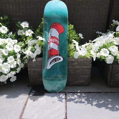 Supreme Cat In The Hat Skate Deck