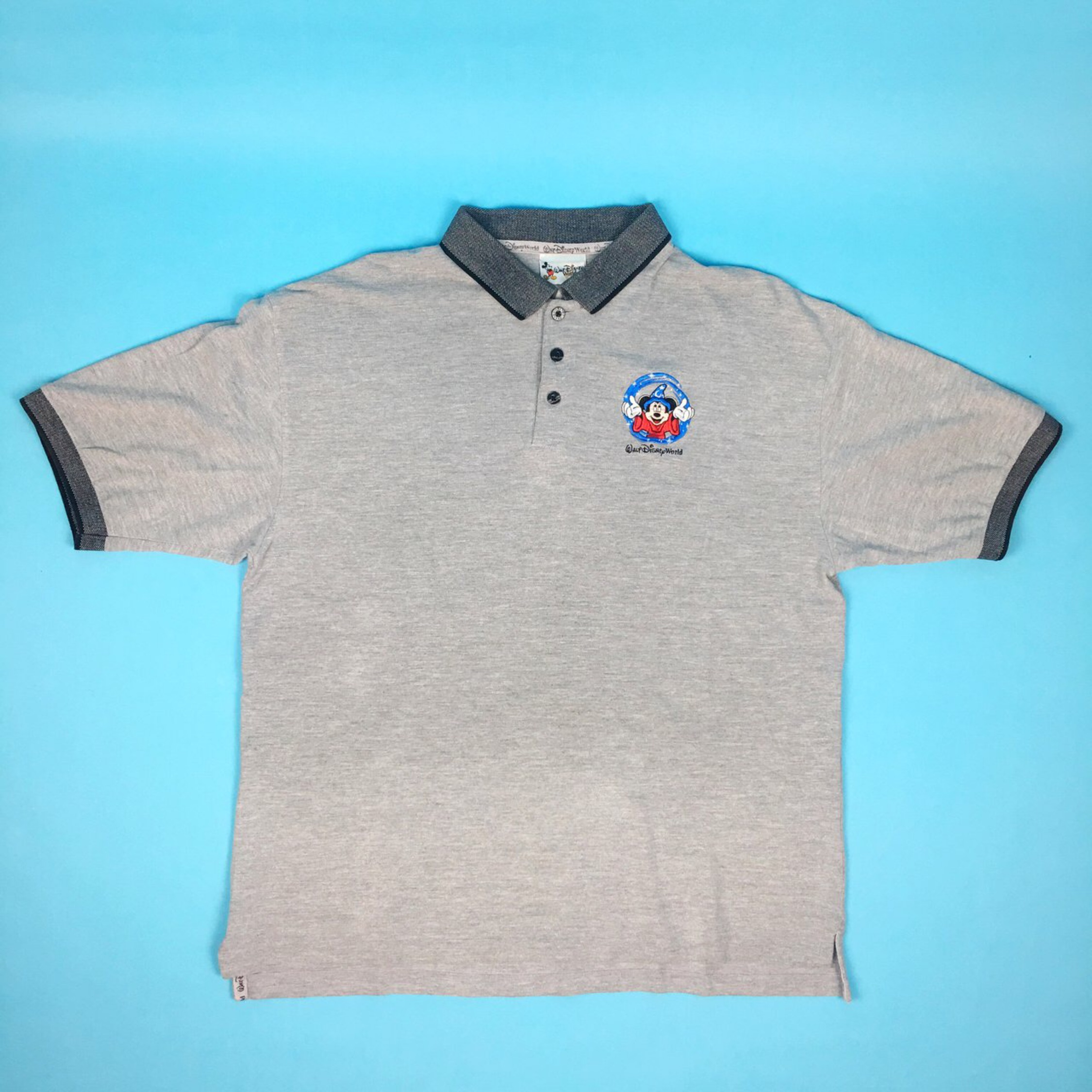 4006e31c5 Vintage Mickey Mouse Embroidered Polo Shirt