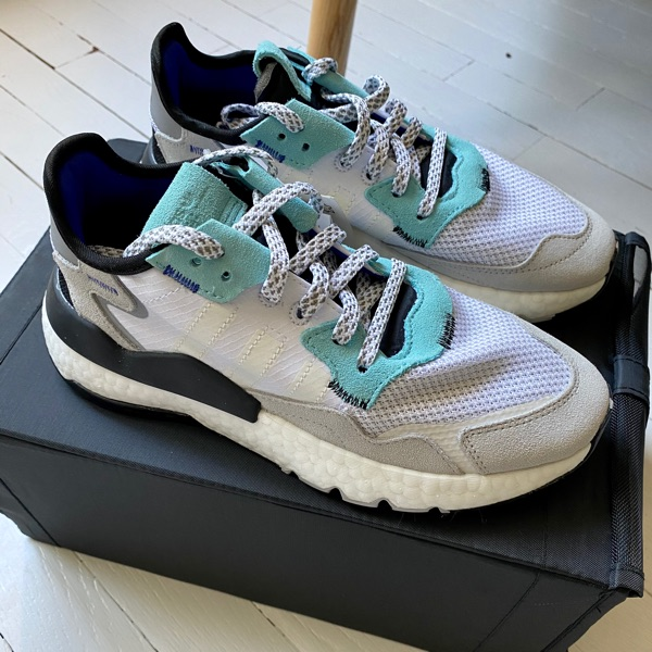 Adidas Nite Jogger Could White