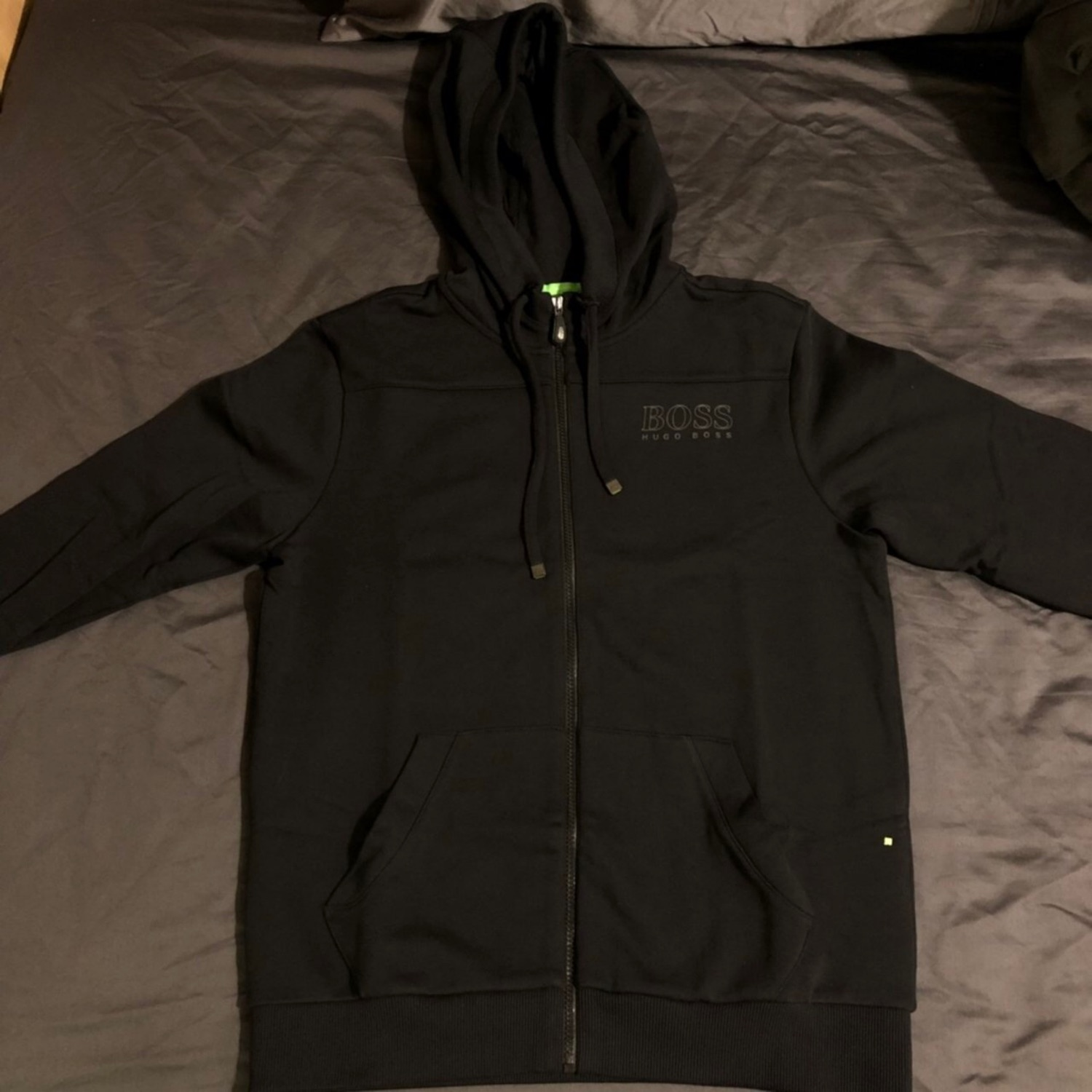 all black hugo boss tracksuit