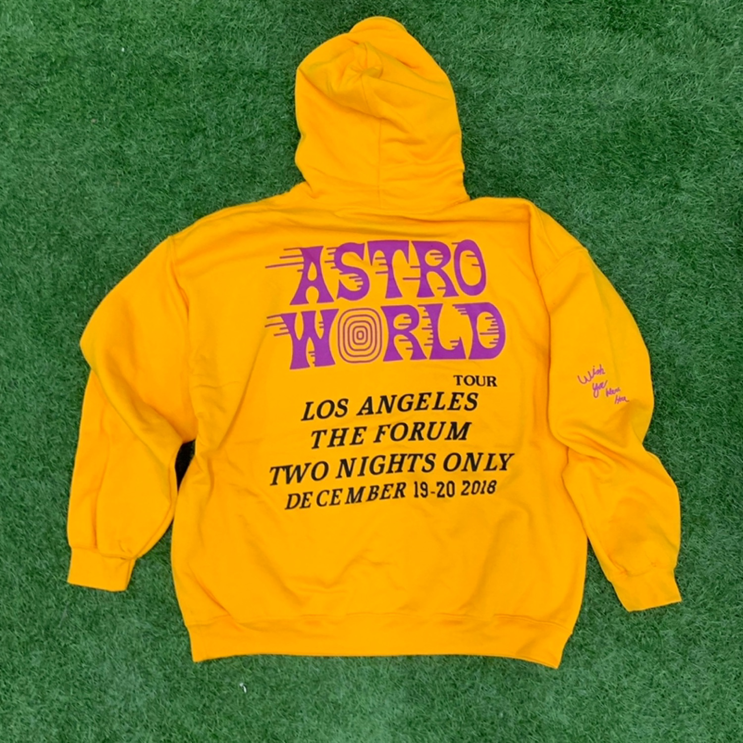 Astroworld Travis Scott Hoodie Off White Vlone Lv