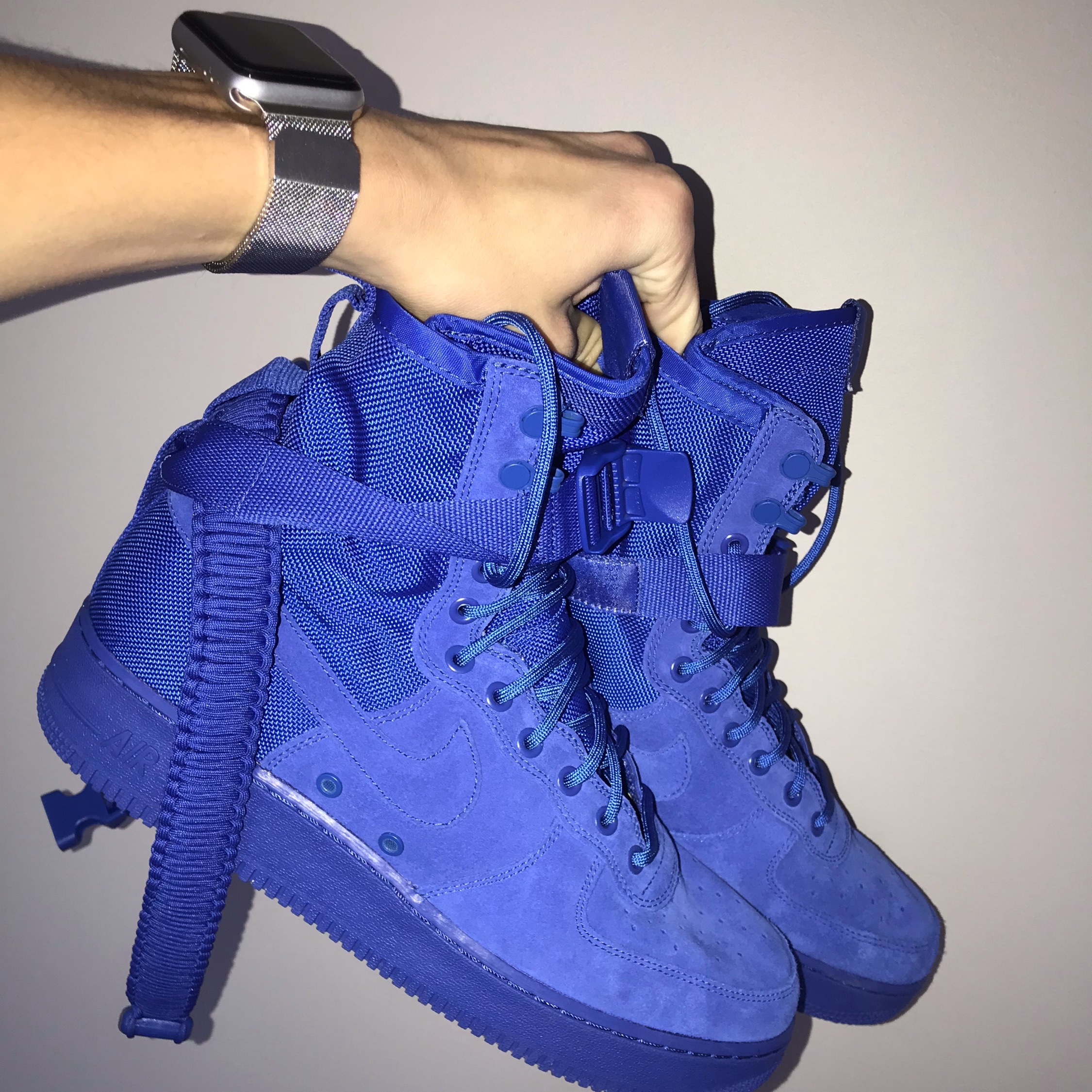 pretty nice c151f 3dd53 Nike Sf Air Force 1 High Royal Blue