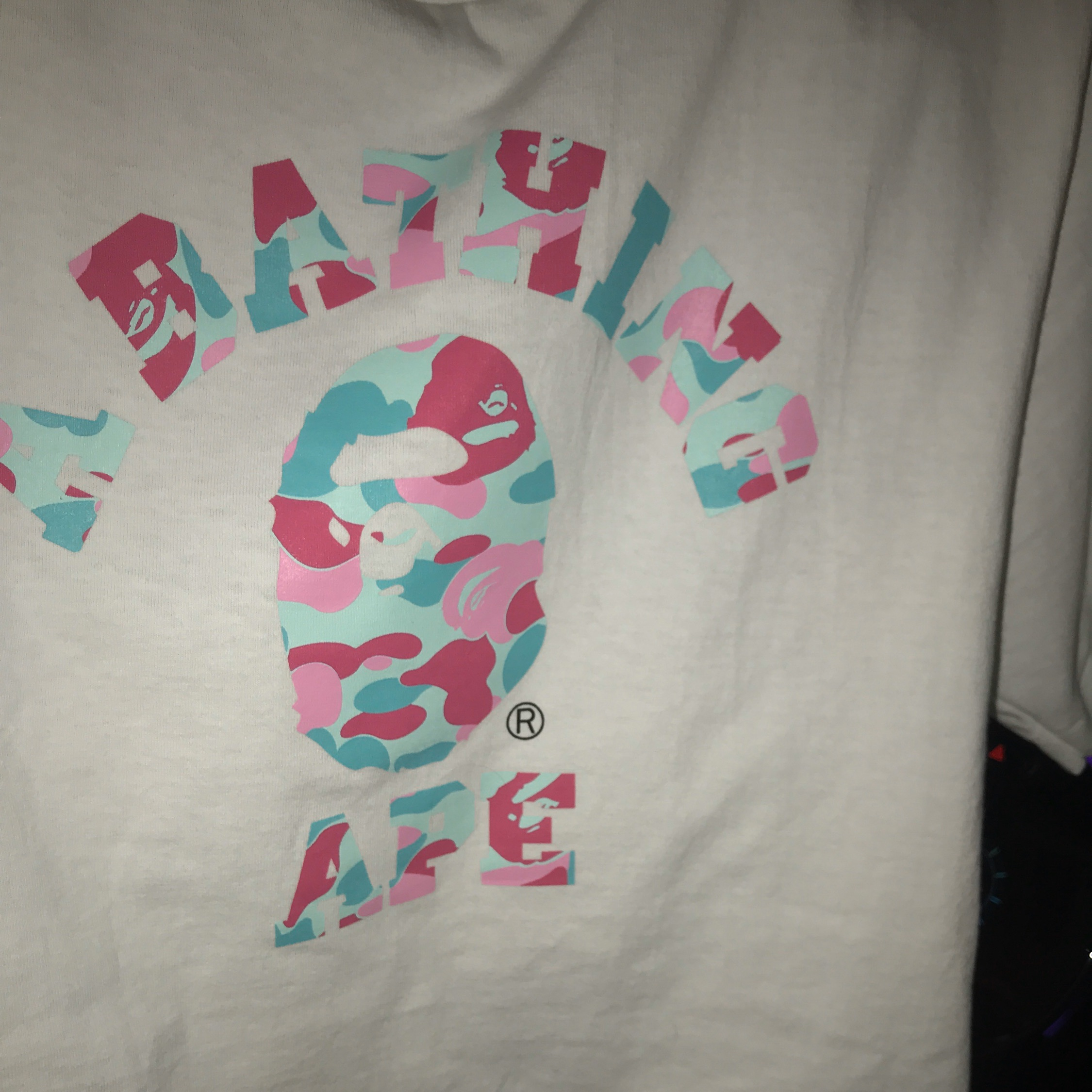 Bape Store Miami Exclusive Collage Tee