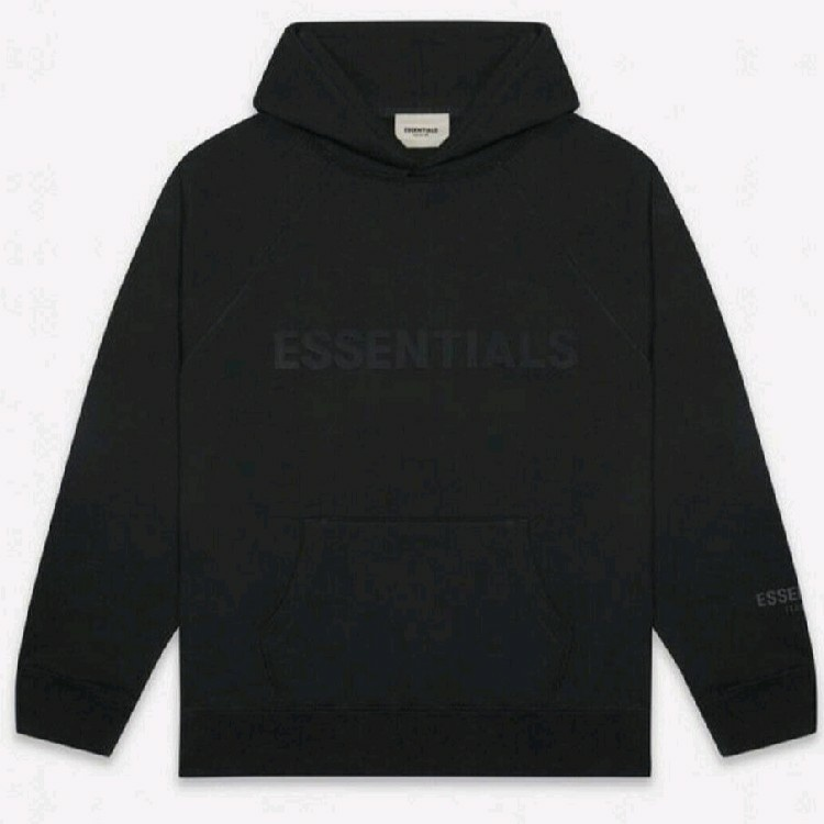 FEAR OF GOD Essentials Pullover Hoodie Black