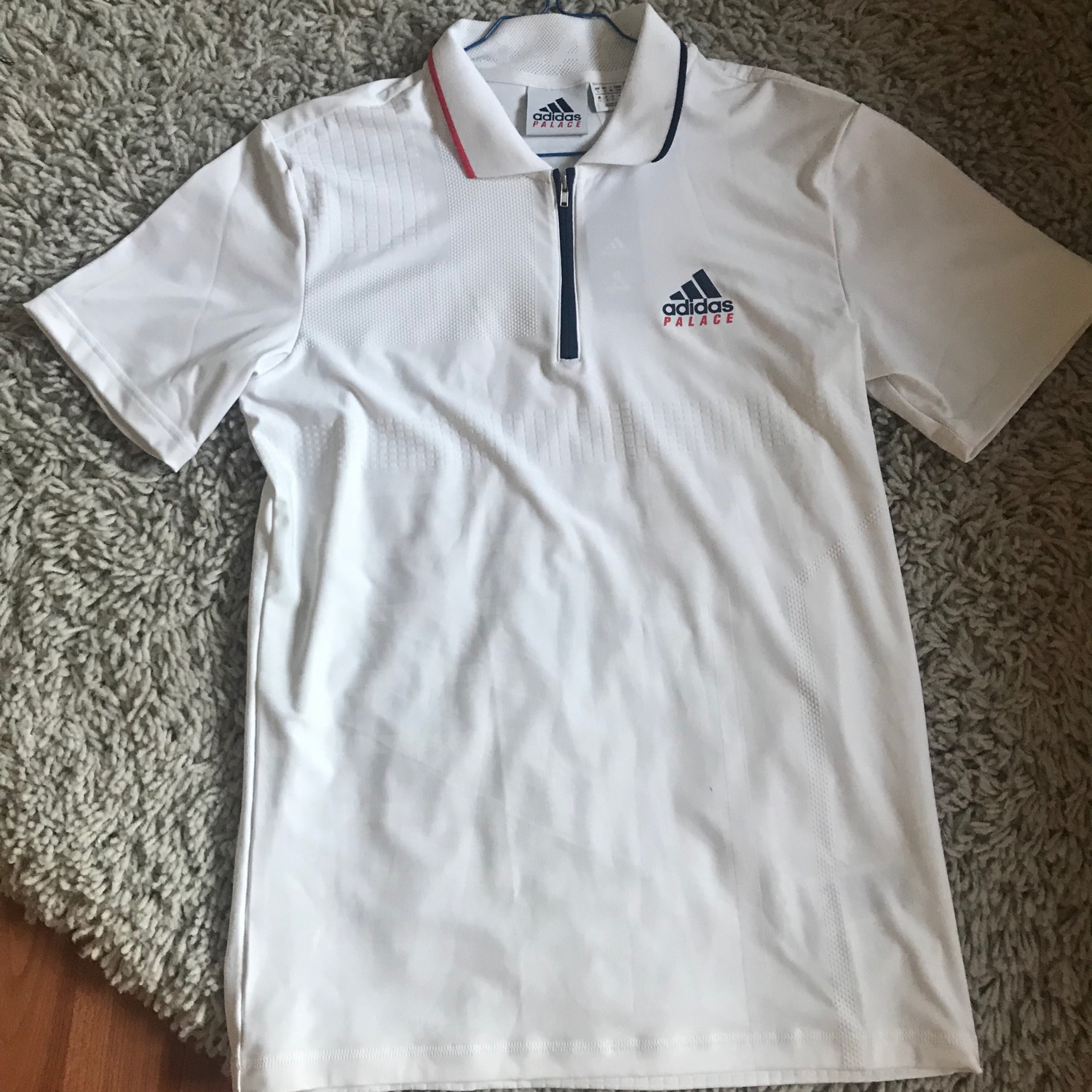 e0c4dd58 Adidas X Palace On Court Jacquard Polo