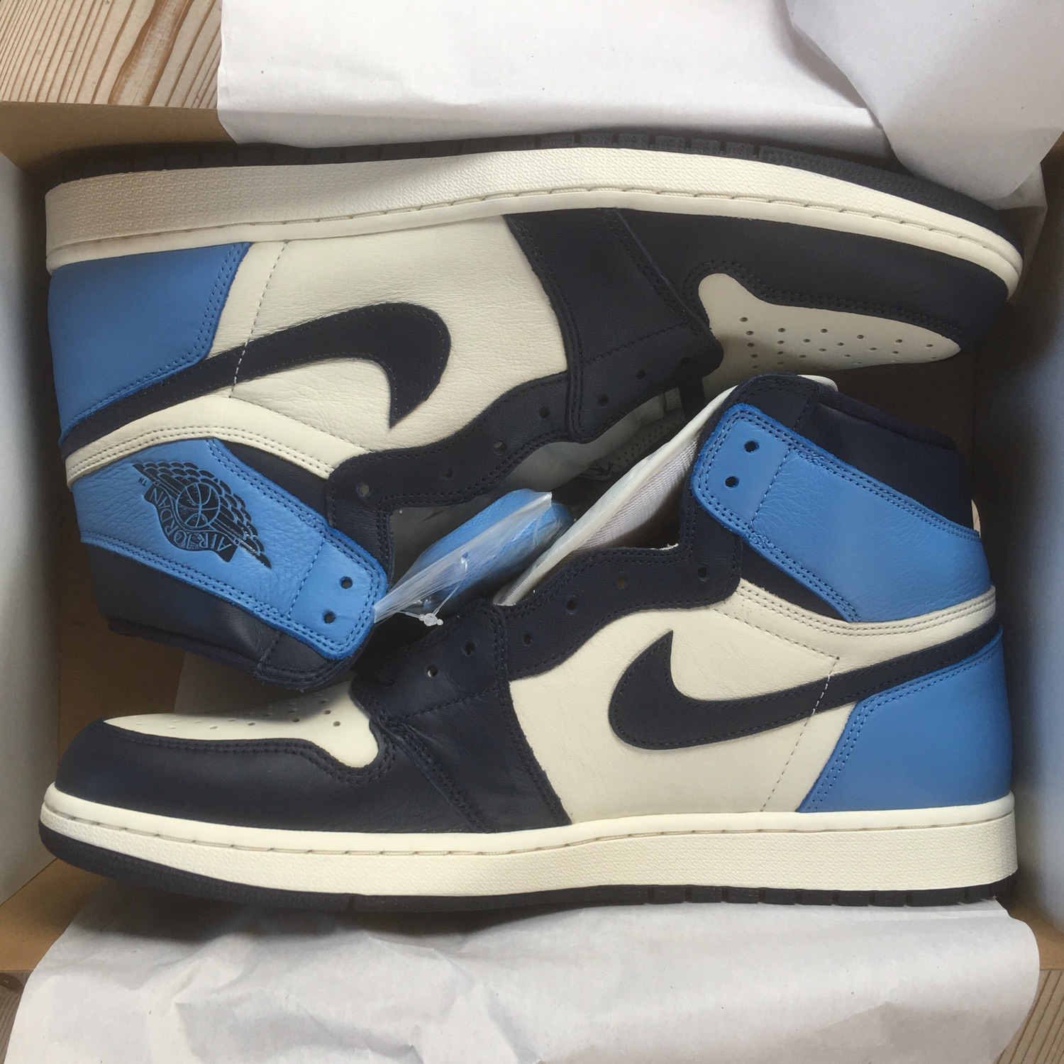 air jordan 1 retro high blu
