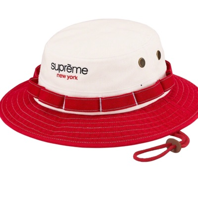Supreme Contrast Boonie Red