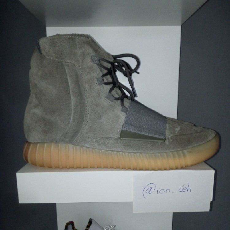 save off bf564 39d64 Adidas Yeezy Boost 750 Grey Gum