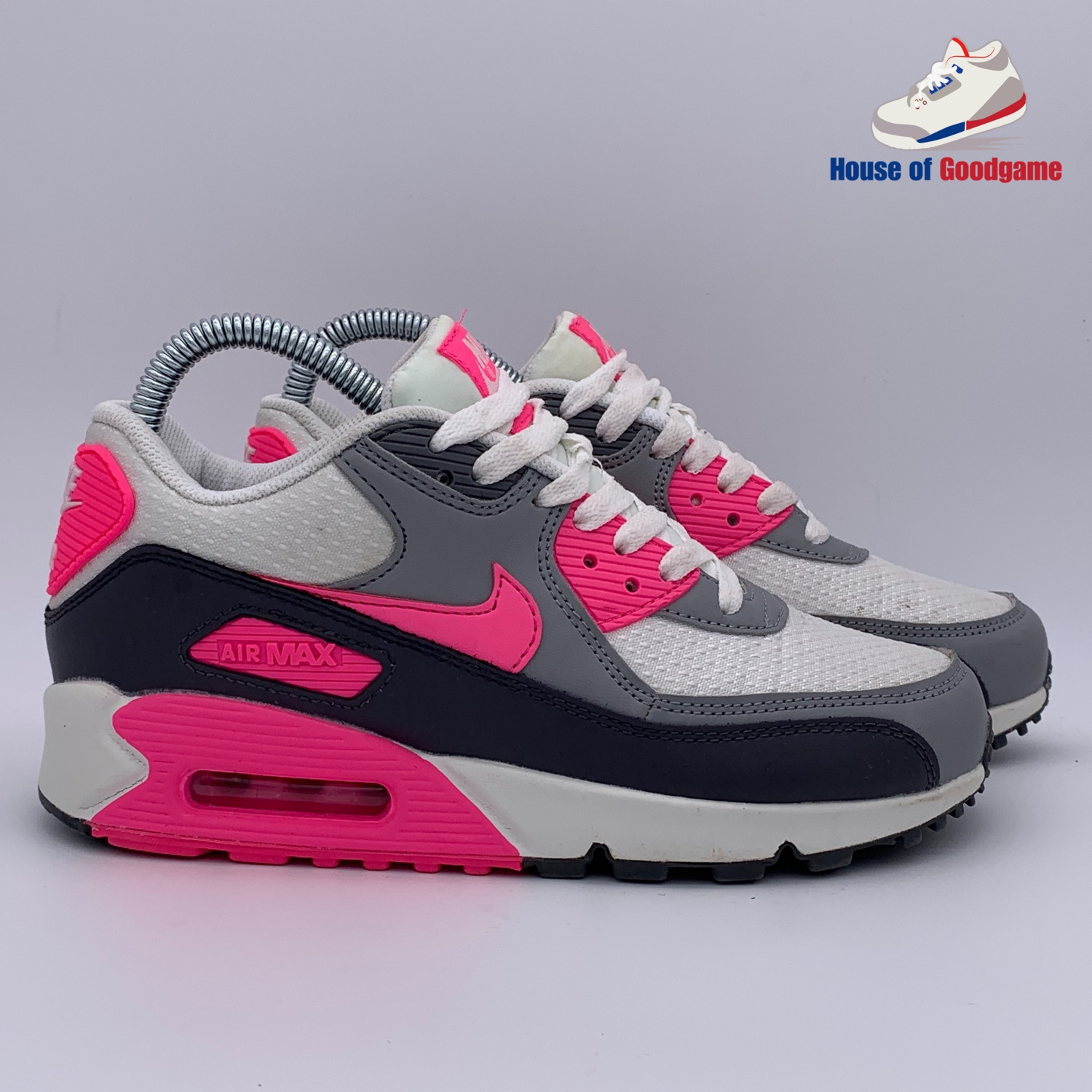 purchase cheap 8bf8a 9b1f3 Nike Air Max 90 Essential Pink Glow