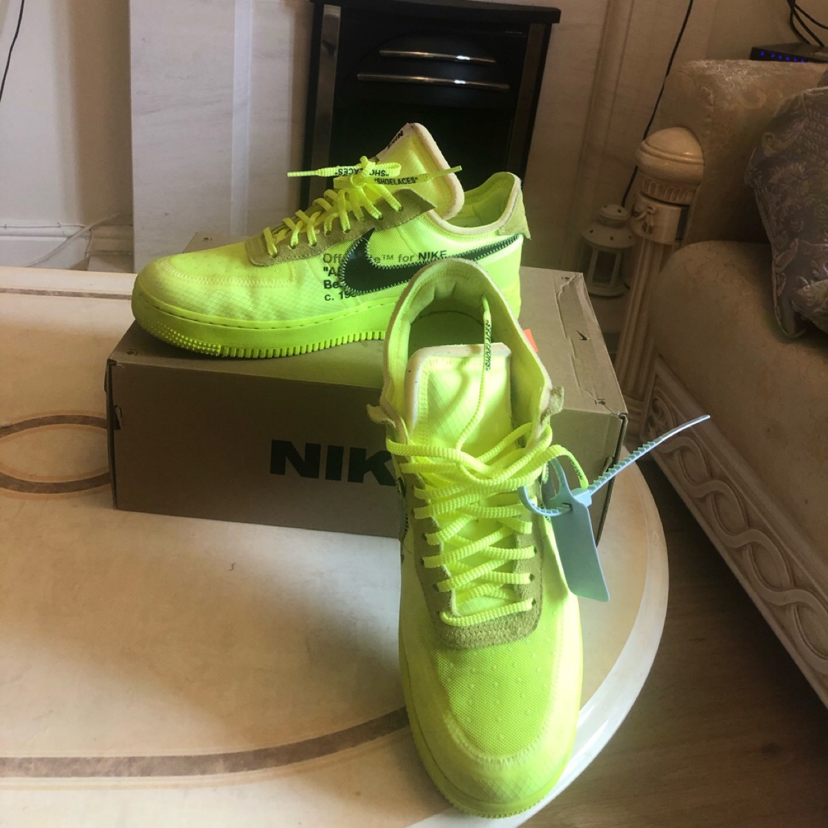 Air Force 1 Low Off-White Volt (TD)
