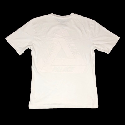 Palace Glow In The Dark White Tee