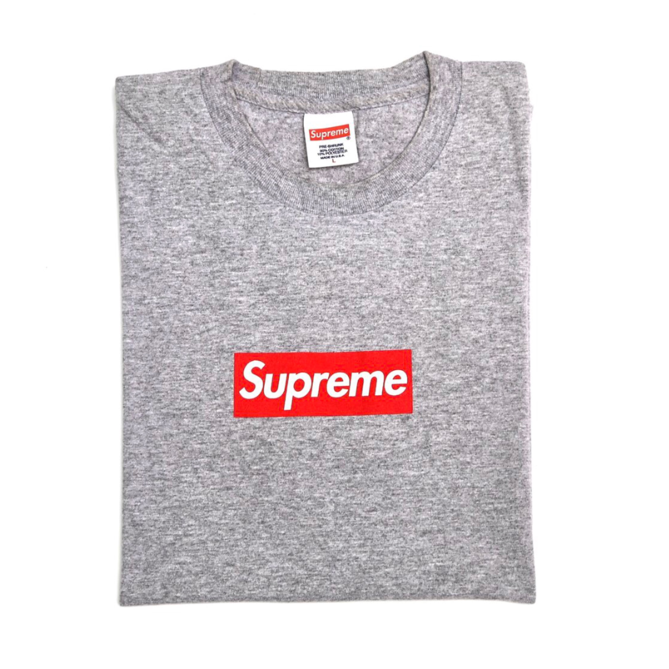 69e64d68e9bc Supreme 20Th Anniversary Box Logo Tee Large