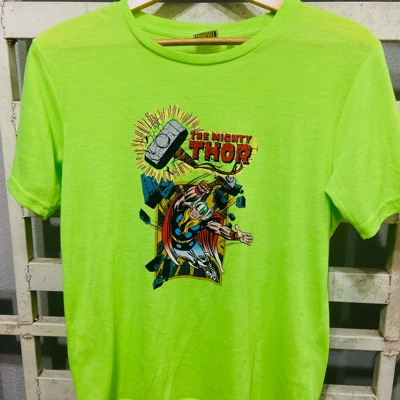 Marvel The Mighty Thor Green