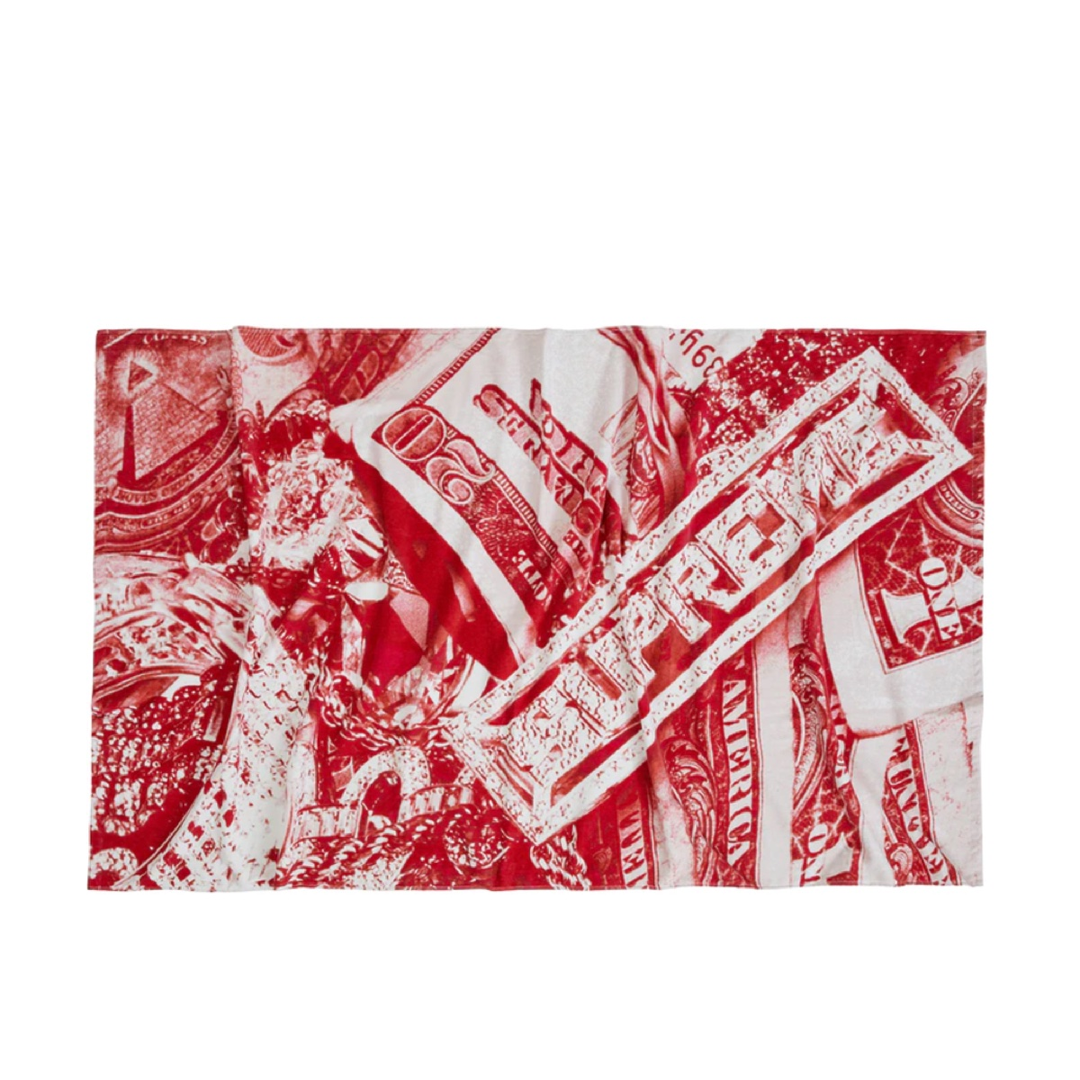 Supreme Bling Towel Red
