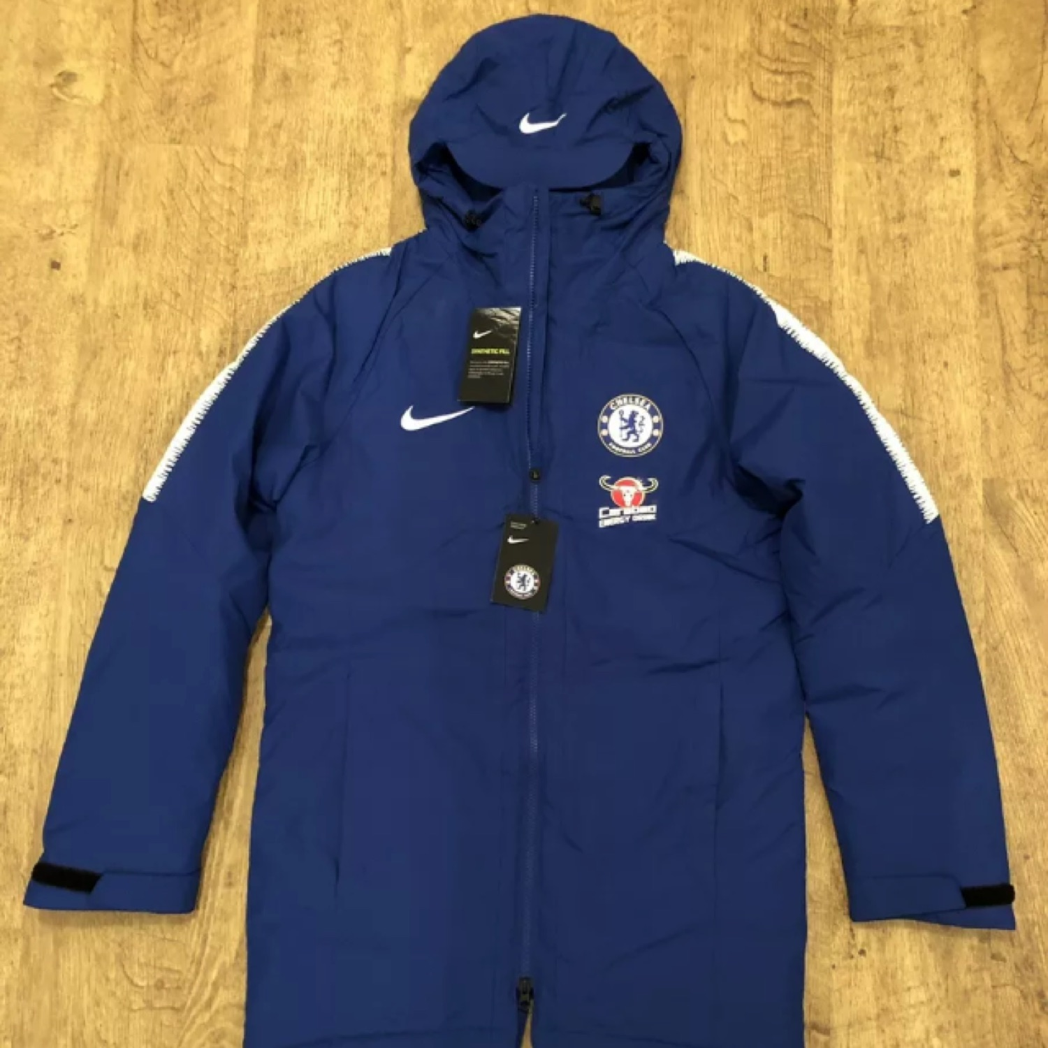 separation shoes 5a453 259cd Nike Chelsea Fc 2018/2019 Padded Jacket