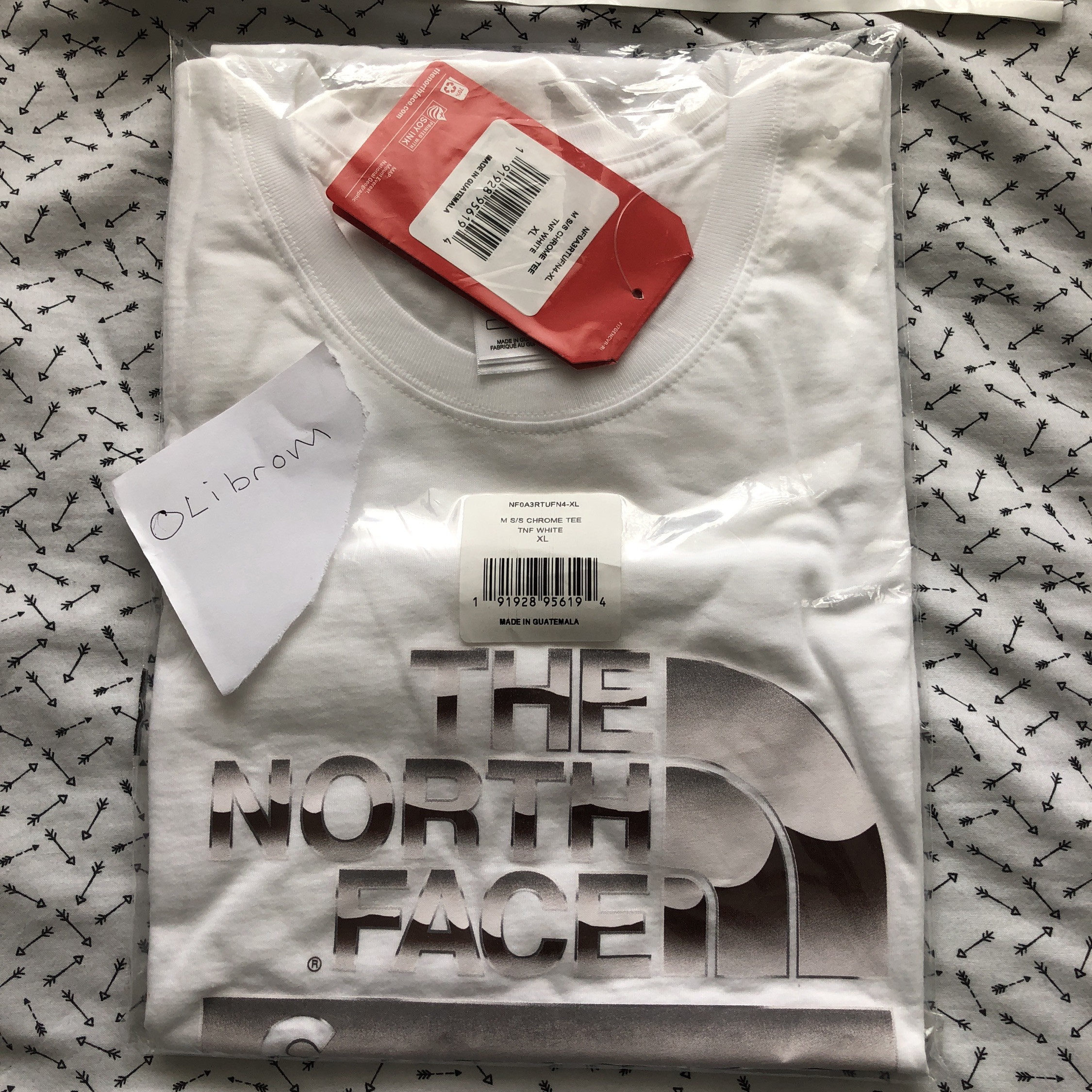 e3c4cb551 Supreme X The North Face Metallic T Shirt