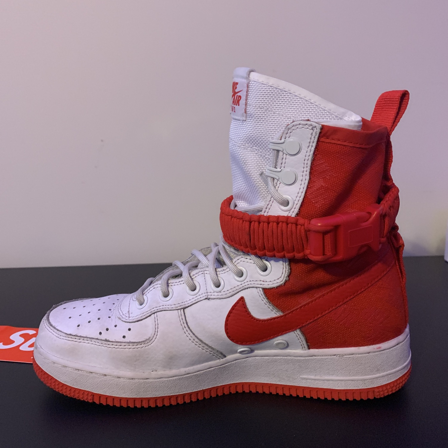 SF Air Force 1 High 'University Red'
