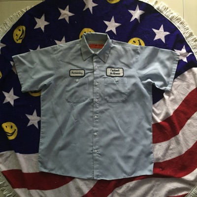 Vintage Red Kap Workers Shirt