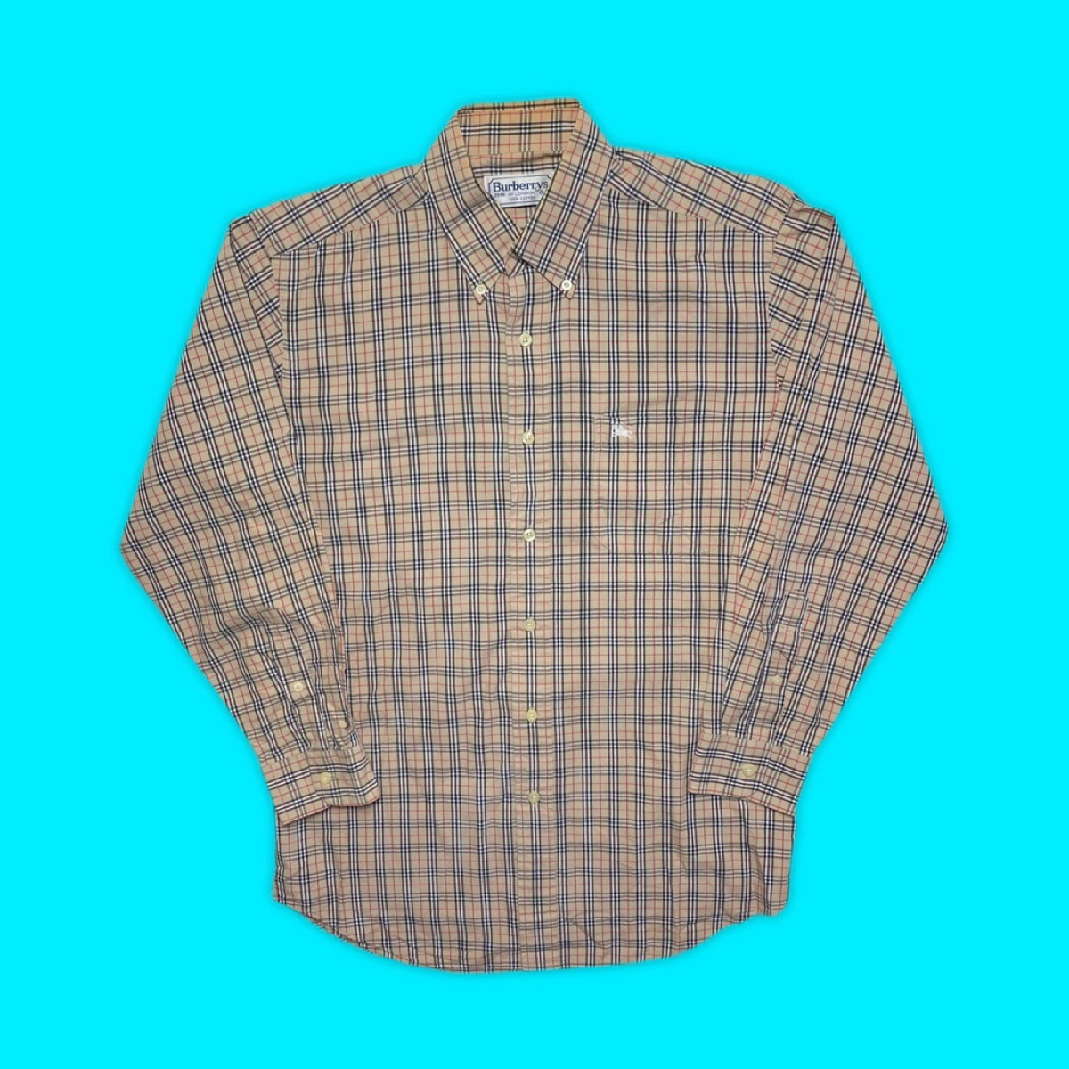 Vintage Burberry Shirt - Nova Check Long Sleeve