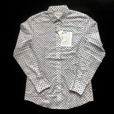 Maison Margiela White Printed Button Down Shirt