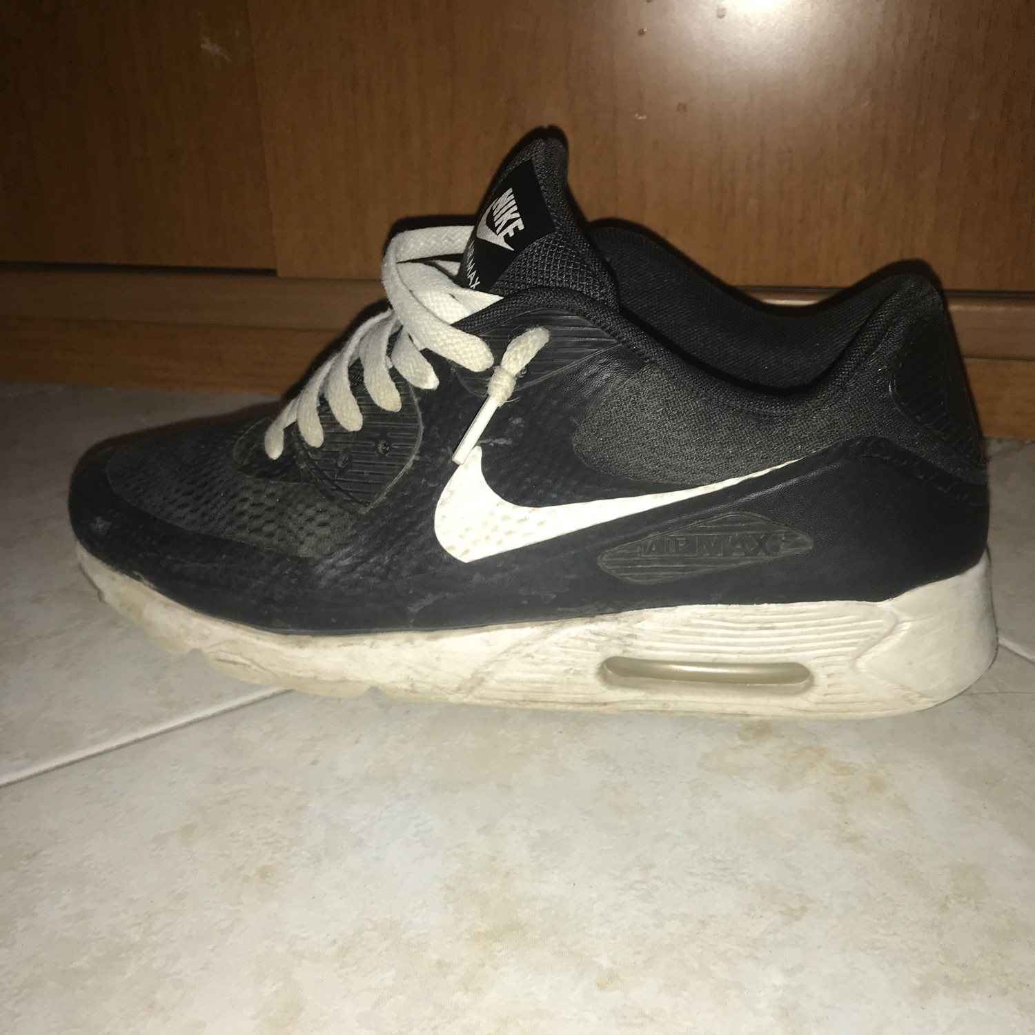 air max 90 bianche nere