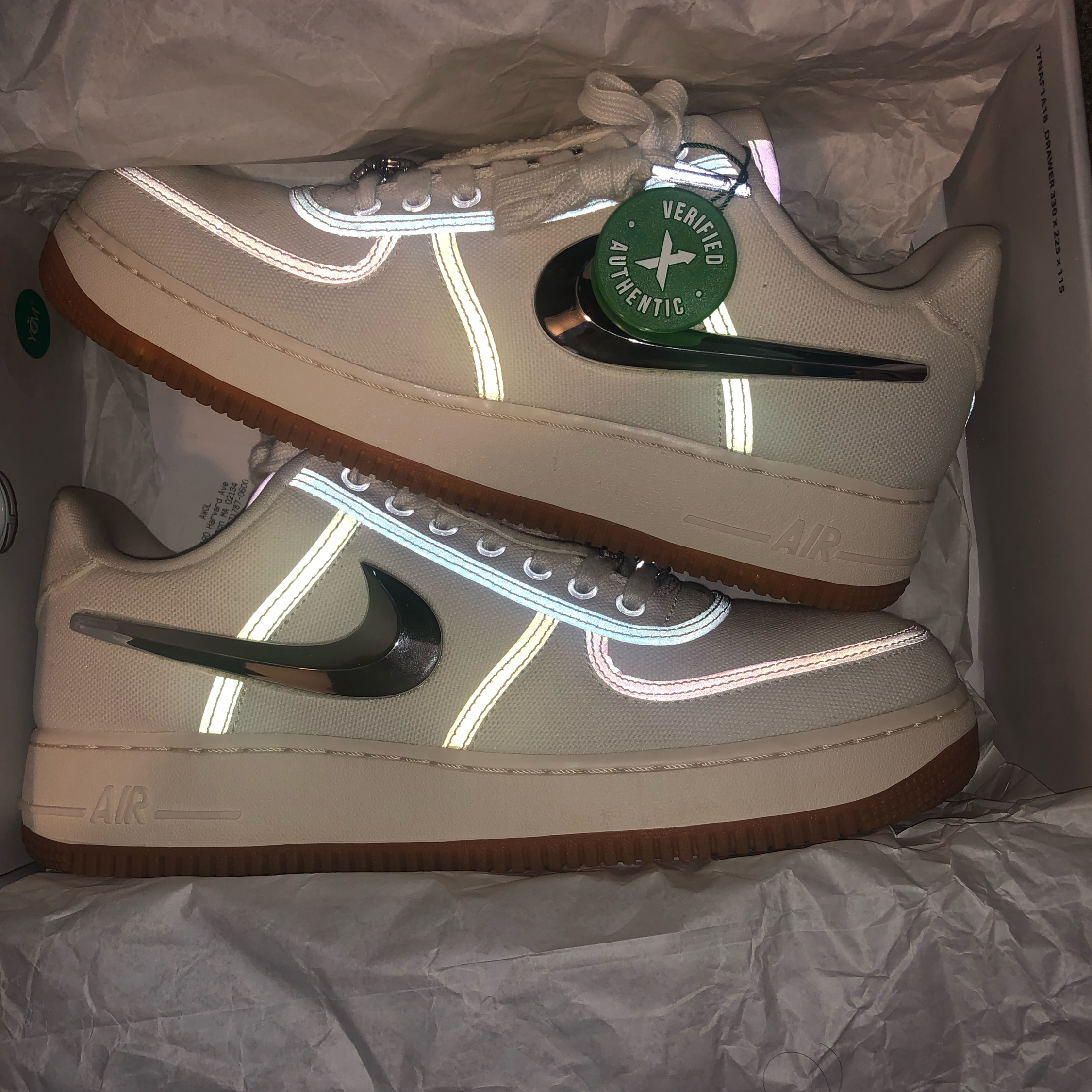 outlet store 14c7a b734a Travis Scott Air Force 1S
