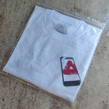 Palace Tri Phone T-Shirt White XL
