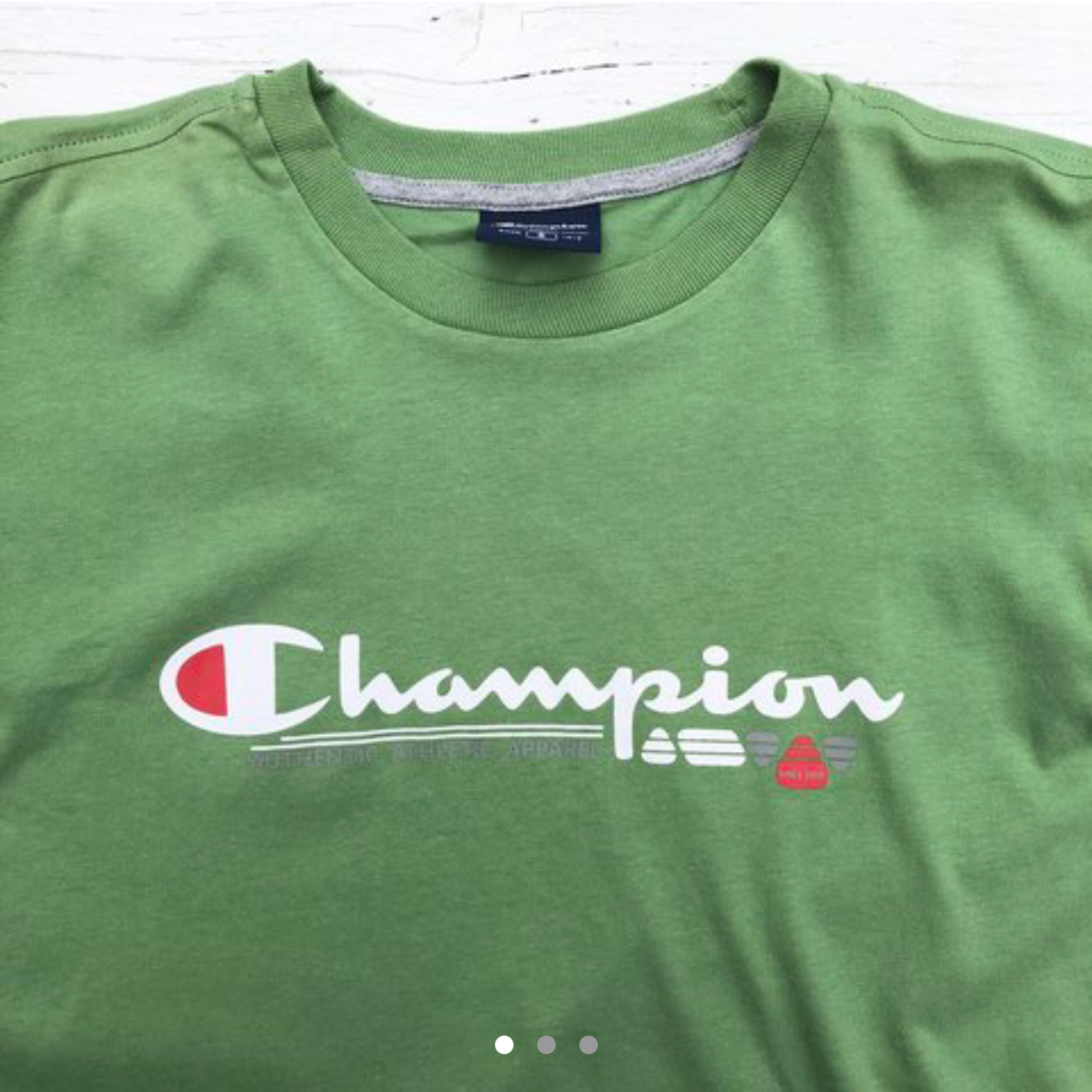 fde08149 Brand New Green Champion Tee Shirt