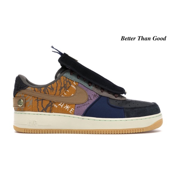 Nike Travis Scott Air Force 1 Cactus Jack