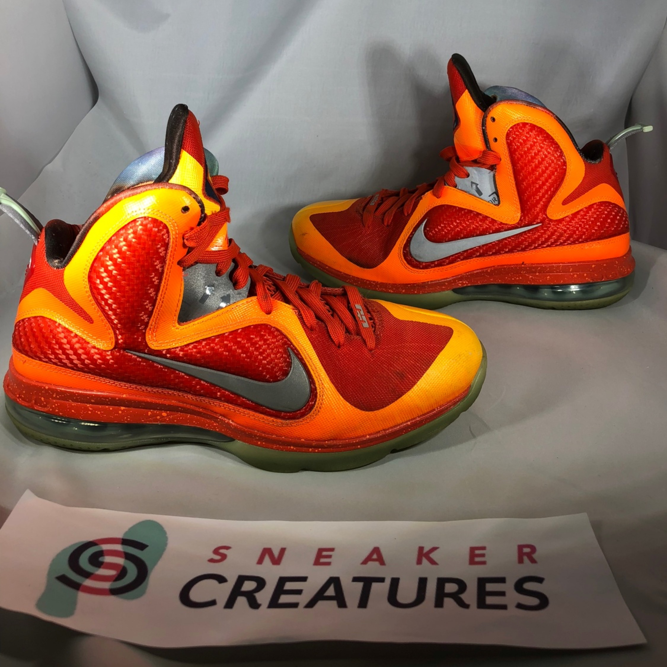best sneakers 1c30e 13287 Nike Lebron 9 Big Bang Asg Galaxy 2012 Size 8.5