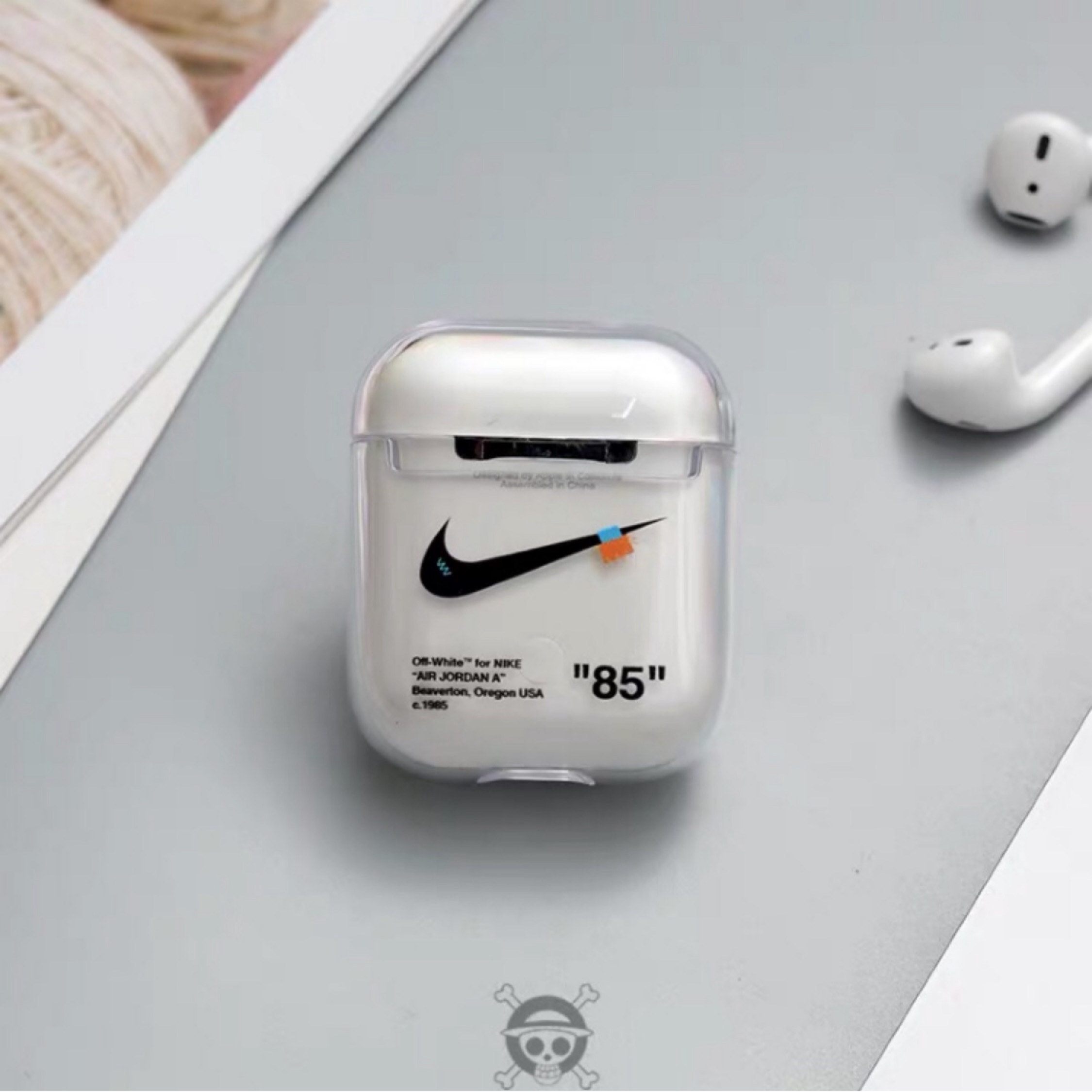 Airpods Case Custom Nike Off White
