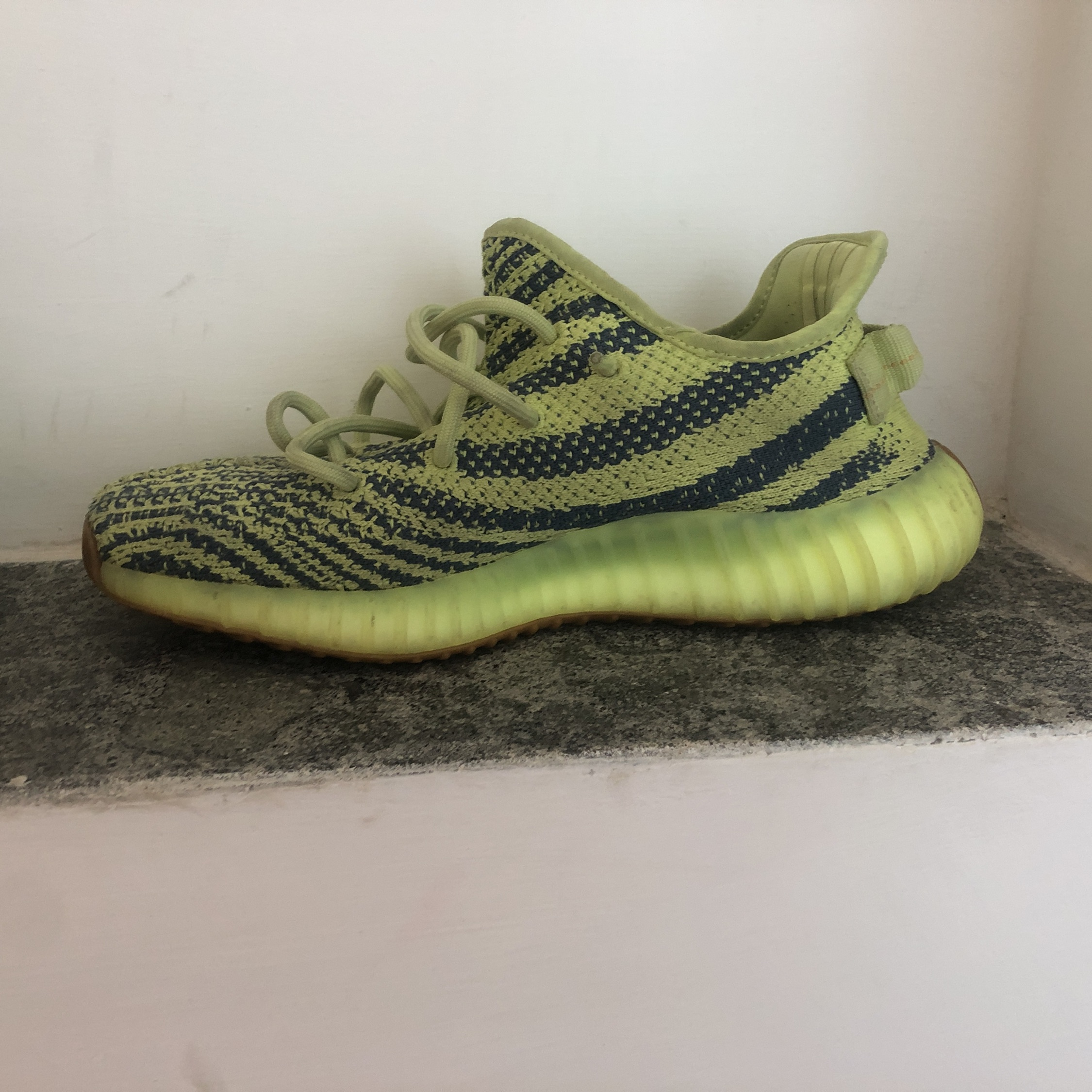 save off 36bcd ad385 Yeezy 350 Frozen Yellow